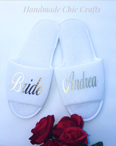 Bridal Slippers