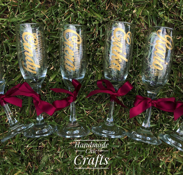 Wedding Champagne Glass Flutes