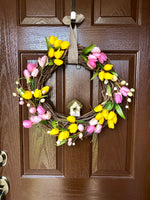 Easter Grapevine Wreath