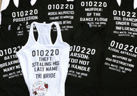 Bachelorette Tanks
