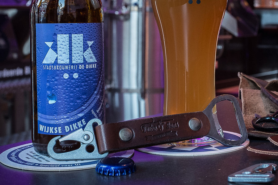 Opening your beer in style. The making of a bottle opener.