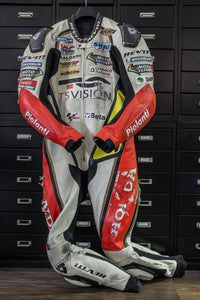 How to recycle a MotoGP race suit into baby sneakers
