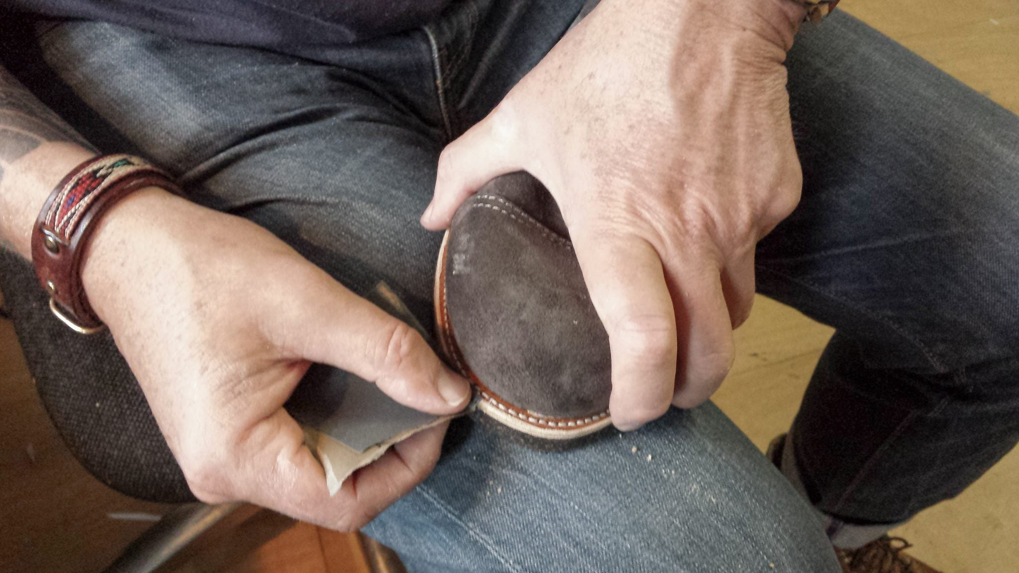 shoemaking: how to make my own pair of Red Wings | Duke & Sons Leather