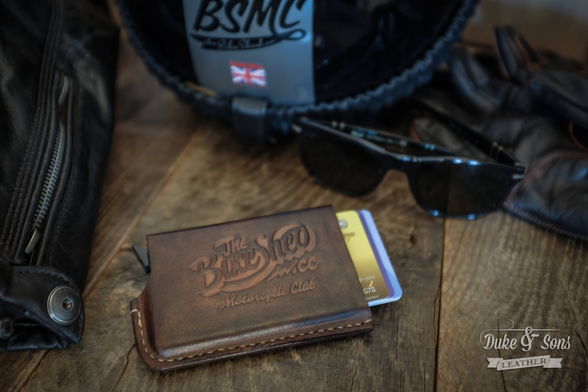 The Bike Shed Motorcycle Club card wallet