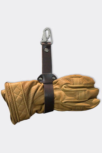 Glove strap, leather strap to keep your gloves with you - Duke & Sons Leather