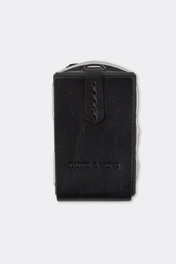 Leather Polestar key sleeve black | Duke & Sons Leather