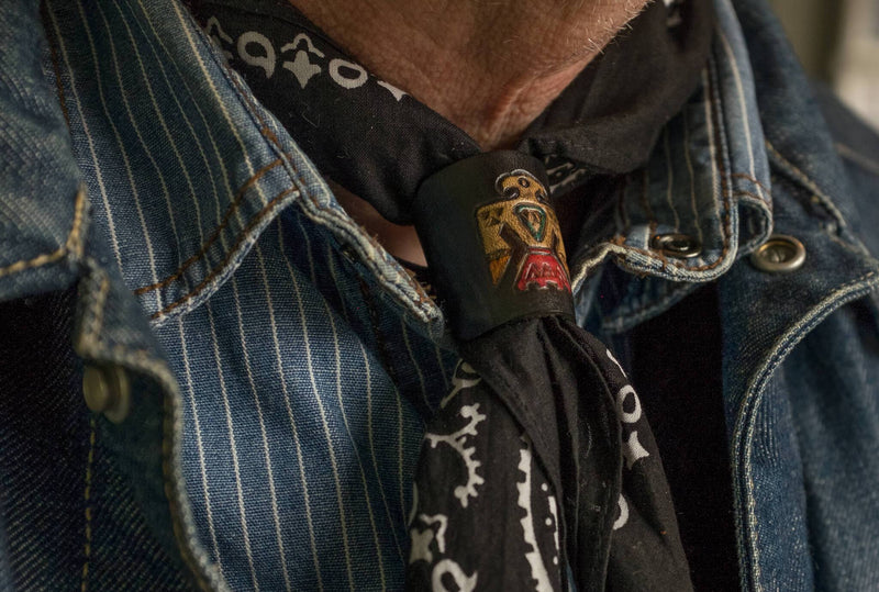 Woggle, bandana / neckerchief slide special - Duke & Sons Leather