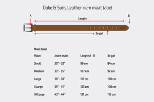 "Belt, red brown color, vegetan leather, hand stitched. solid brass buckle, 40mm (1.57"") - Duke & Sons Leather"