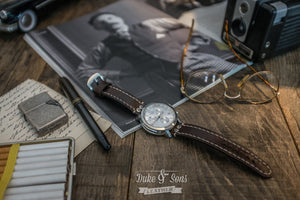 Watch strap, several models. Full grain A-grade leather, hand stitched. - Duke & Sons Leather