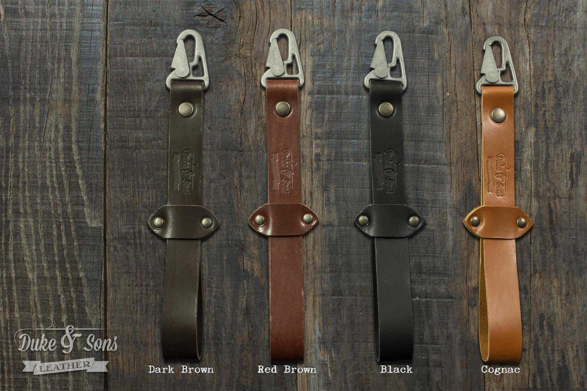 Glove strap, leather strap to keep your gloves with you | Duke & Sons Leather