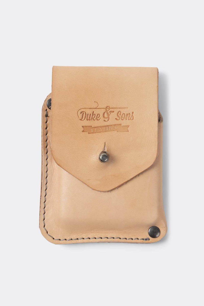 Copy of Card wallet, vegetan natural leather | 10 cards