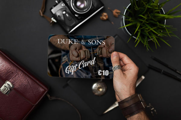 Duke & Sons Leather Gift Card - Duke & Sons Leather