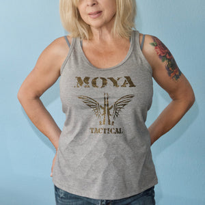 Womens Concealed Carry Butterfly Tank Top - Moya Tactical Concealed Carry T Shirts