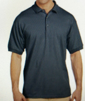 Polo Shirt Charcoal with antiprint technology - Moya Tactical Concealed Carry T Shirts