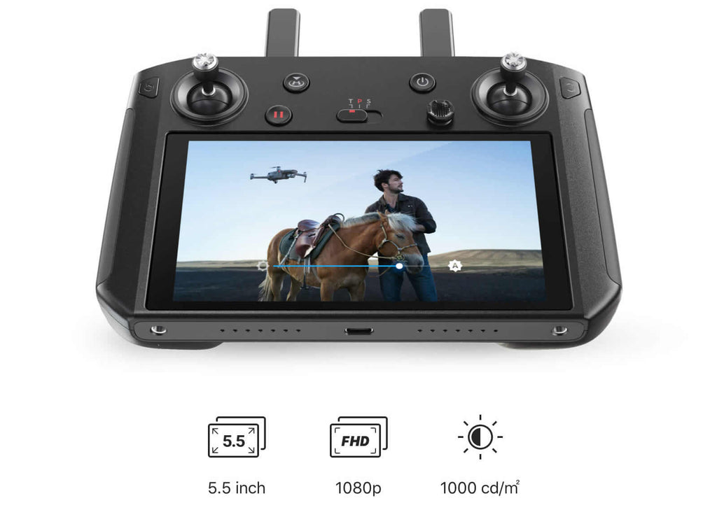 DJI Smart Controller Ultra Bright Screen