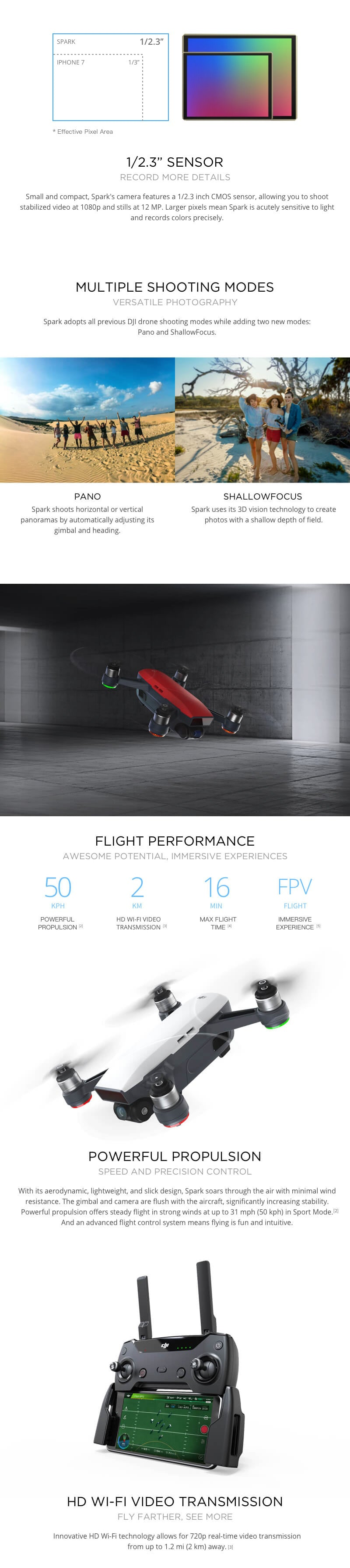 DJI Spark Description 3