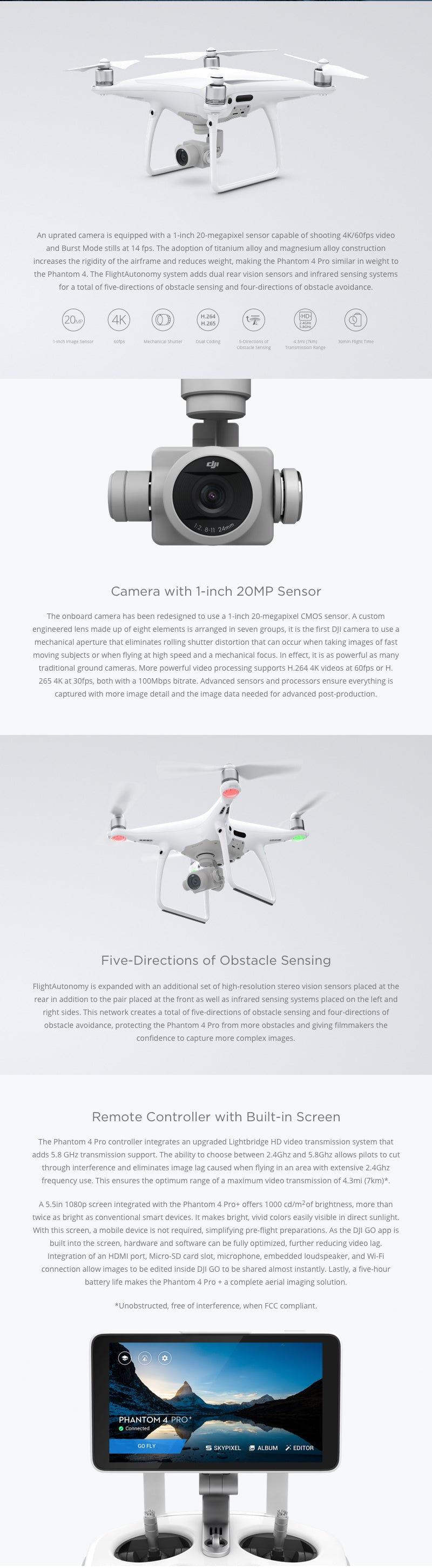 DJI Phantom 4 Pro Description 1