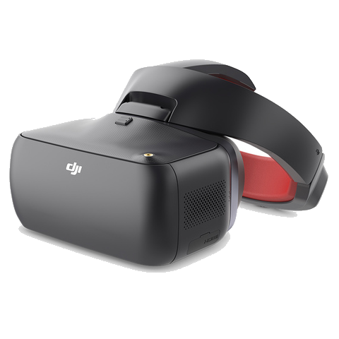 DJI Goggles Racing Edition - Black 1080P Immersive FPV