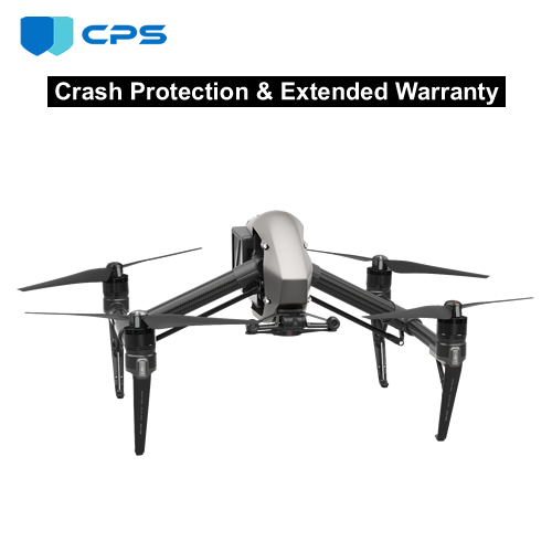 Refurbished DJI™ Inspire 2 Crash Protection Plan (As Low As $17.72/Month*)