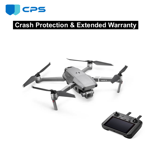 DJI™ Mavic 2 Zoom with Smart Controller Crash Protection Plan (As Low As $11.26/Month*)