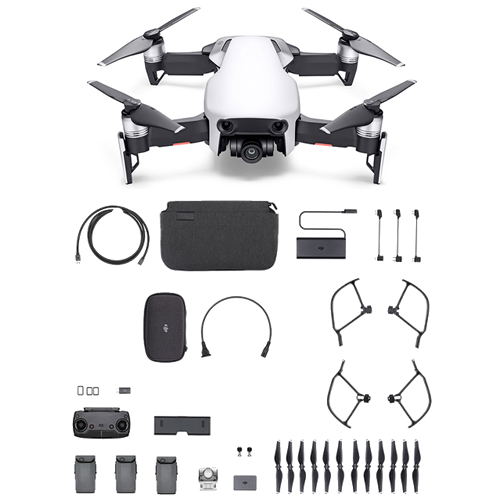 Arctic White DJI™ Mavic Air Fly More Combo - Refurbished (As Low As $30.30/Month*)