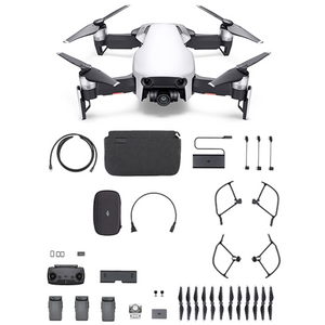 Arctic White DJI Mavic Air Fly More Combo – Refurbished