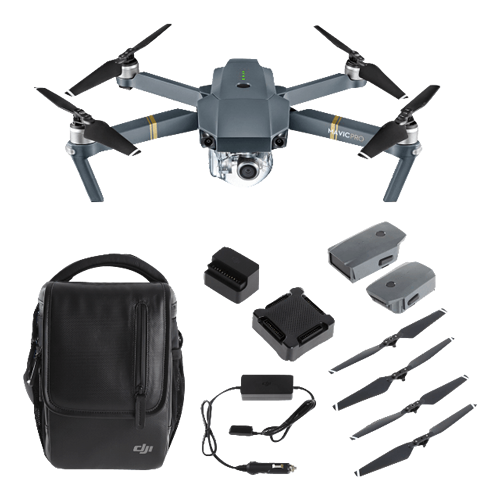 DJI™ Mavic Pro Fly More Combo - Refurbished with Full Warranty (As Low As $38.69/Month*)