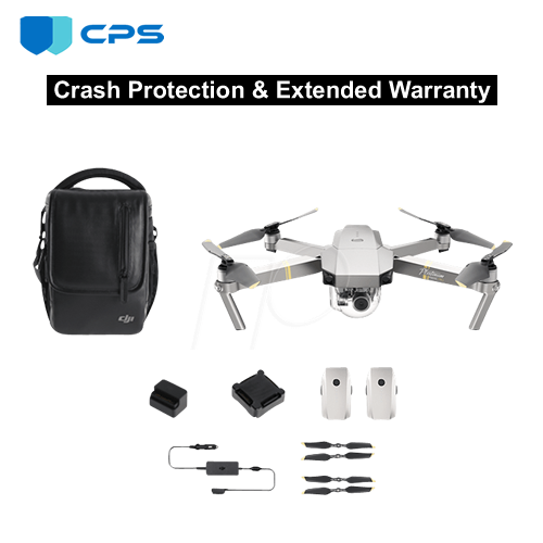 Refurbished DJI Mavic Pro Fly More Combo Crash Protection Plan
