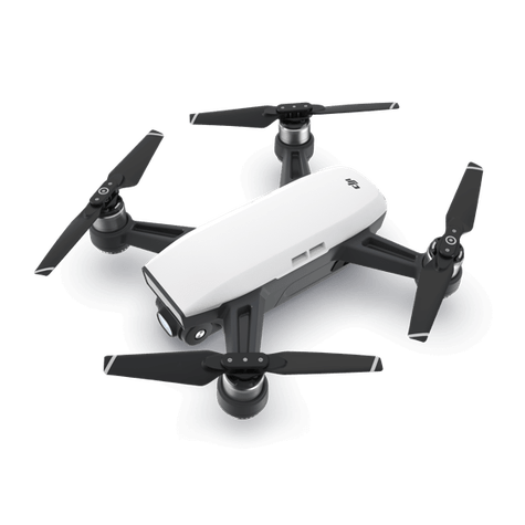Alpine White DJI™ Spark Drone - Refurbished with Full Warranty