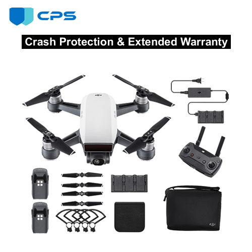 Refurbished DJI Spark Fly More Combo Crash Protection Plan