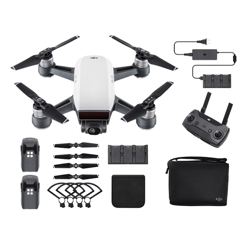 Alpine White DJI™ Spark Fly More Combo - Refurbished with Full Warranty (As Low As $15.14/Month*)