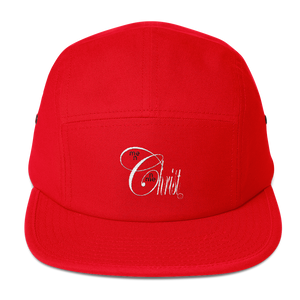 Christ N Me, Me N Christ Five Panel Red Cap