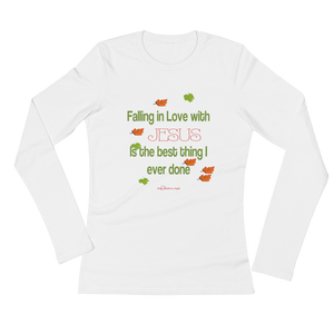 Women's Falling In Love With Jesus Shirt