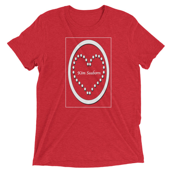 Kim Seaborn Men's Heart T-Shirt