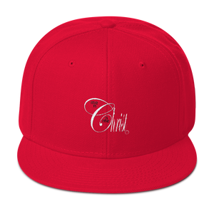 Christ N Me, Me N Christ Red Snapback Hat