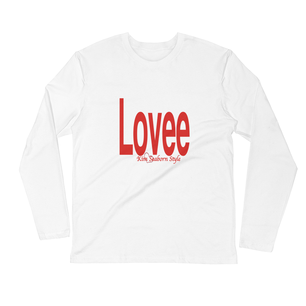 Men's Long Sleeve Lovee Fitted Crew