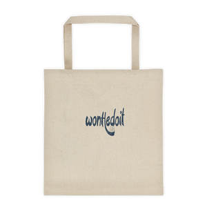 WonHedoit Black Tote Bag