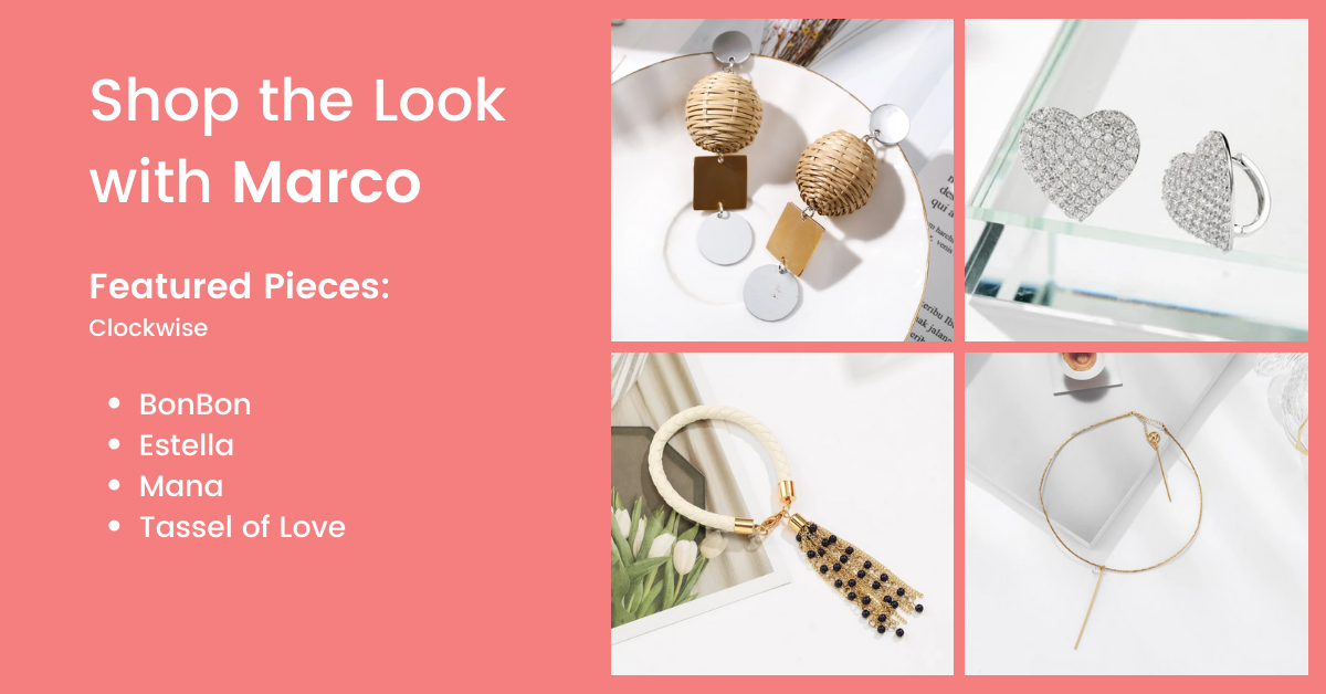 sunset cocktail accessories