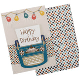 Happy Birthday Card and Envelope