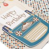 Happy Birthday Card close up