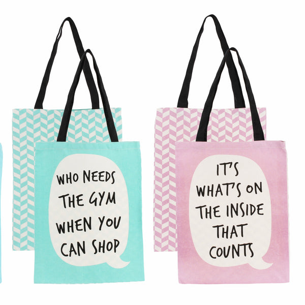 Selection of other tote bags in this range