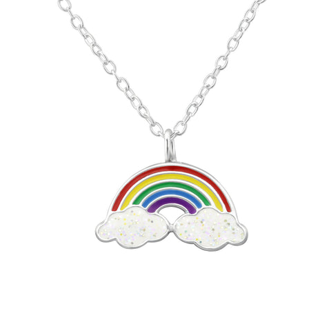Somewhere over the rainbow can be a reality with these gorgeous vibrant pendant necklace.