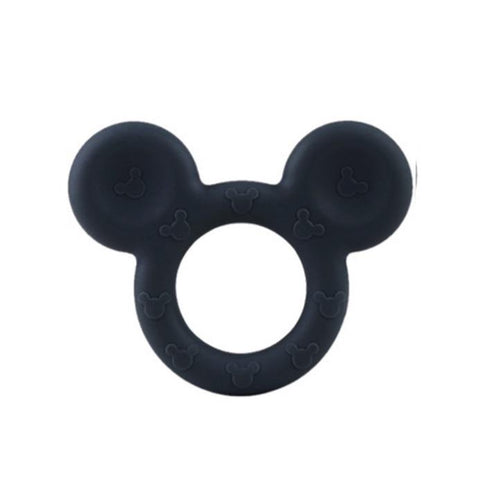 Black Mouse Ears Teething Toy