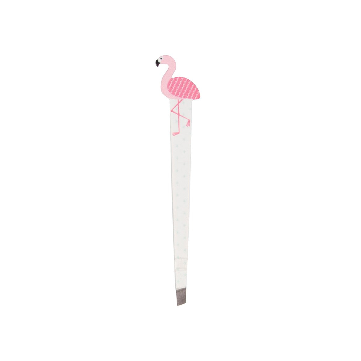 Novelty pink flamingo tweezers
