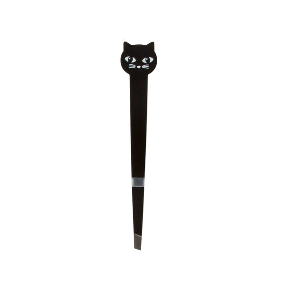 Novelty black cat tweezers