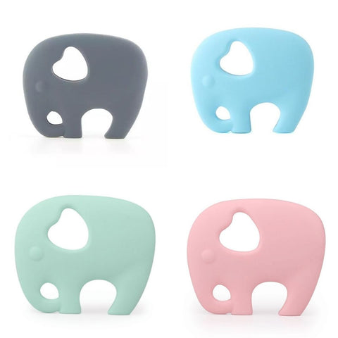 Choice of elephant teethers