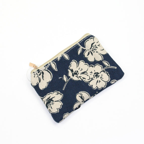 Primrose print design coin purse