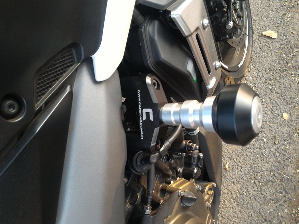 Frame Sliders for Dominar 400 (Premium)