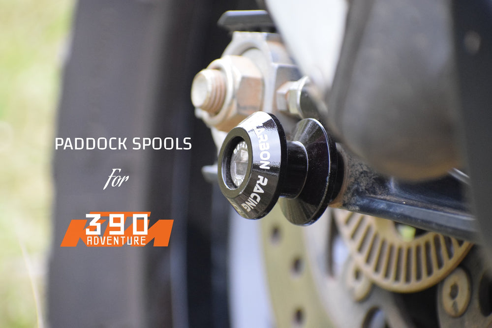Paddock Stand Spools (Aluminium) For KTM 390 Adventure