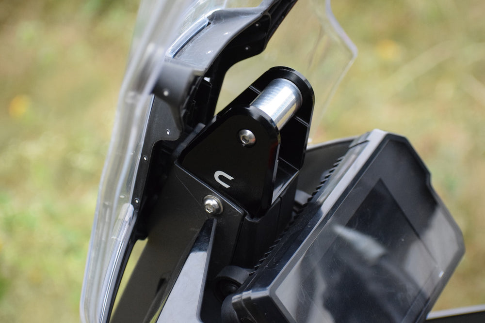 Premium GPS Mount with Windshield Stabilizer Unit